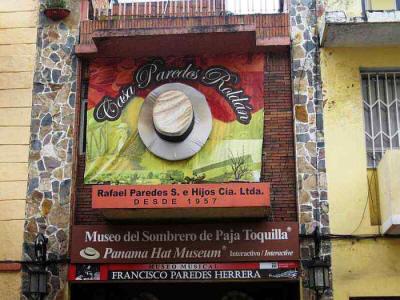 PUMAPUNGO MUSEUM   ALL 15 MUSEUMS IN CUENCA ECUADOR  Panama Hats Museum  Paredes Roldán b2ca9a0ea08