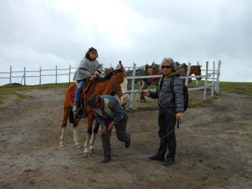 BEZIENSWAARDIGHEDEN QUITO: Horseback riding on Pichincha