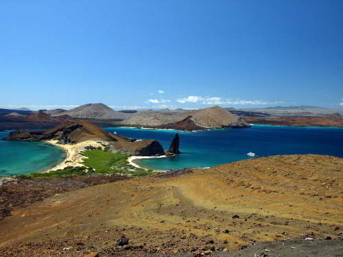 Ecuador Facts and Culture: Bartelome Island at Galapagos National Park