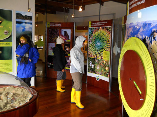 Cajas Nationalpark, Ecuador Tours: Besucherzentrum Cajas Nationalpark
