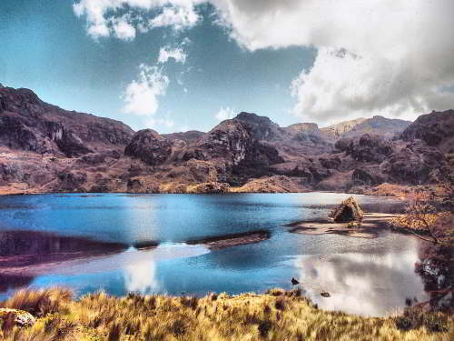 TOP 100 INTERESTING FACTS ABOUT ECUADOR: Lake at Cajas National Park, Ecuador