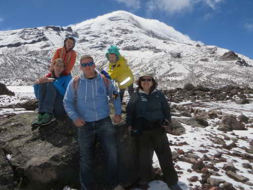 "TOP 10 ECO TOURS ECUADOR: The ""steeple of the World"", Chimborazo."