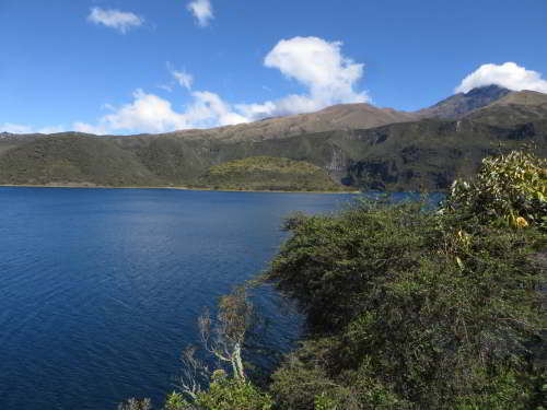 TOP 10 ECO TOURS ECUADOR: Cuicocha Crater Lake.